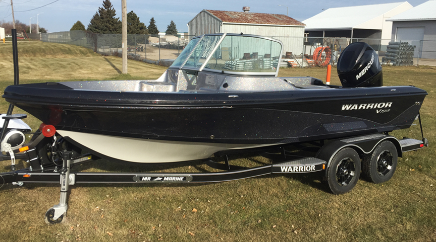 2018 Warrior V193 DC 200 HP Mercury Verado